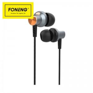 Factory wholesale Metal Earphone Sport Earphone - T24 inclined in-ear metal earphone – FONENG