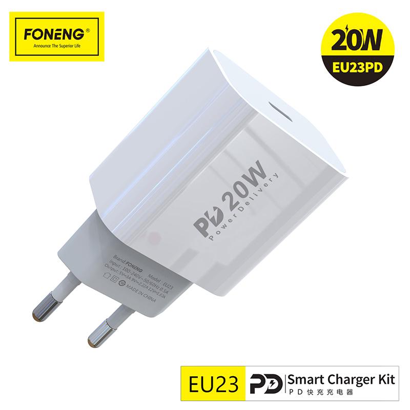 EU23 PD 20W charger Sets
