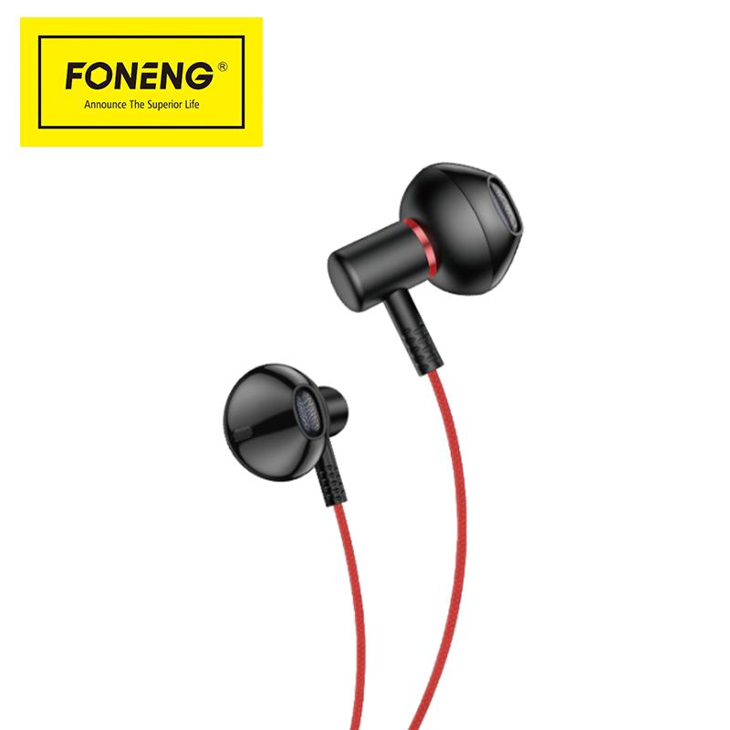 T39 half in-ear metal  earphone